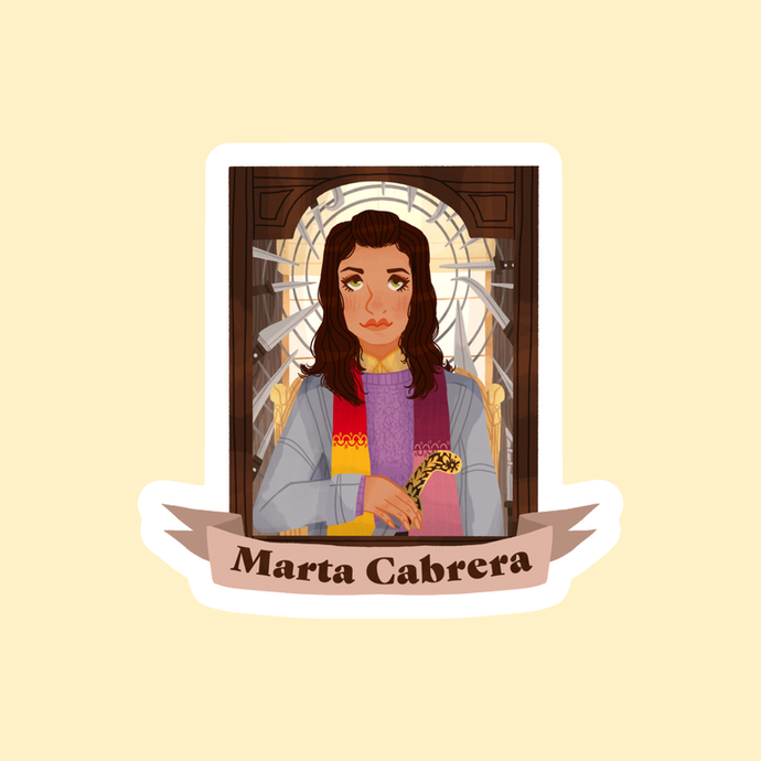 MARTA STICKER by SKYLAR VERDUZCO