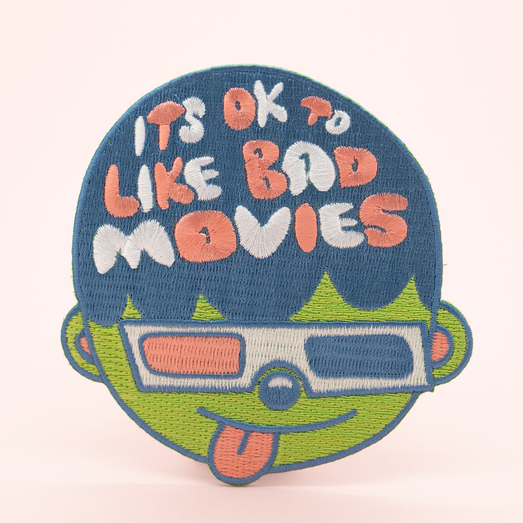 IT'S OK TO LIKE BAD MOVIES PATCH