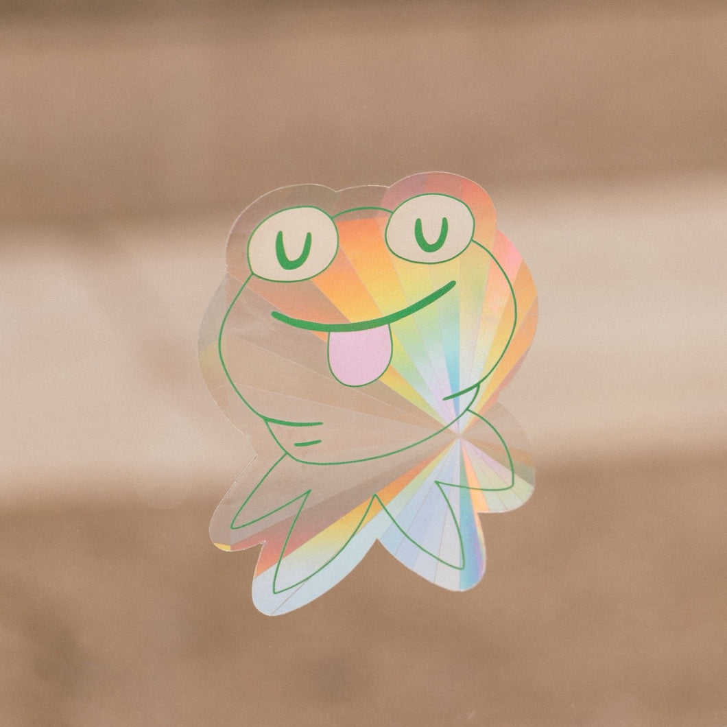 KERMIE SUN CATCHER DECAL