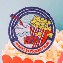 MOVIES BY YOURSELF CLUB PATCH