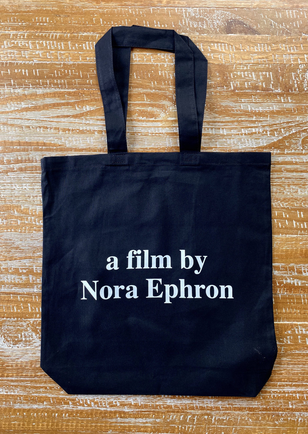BY NORA EPHRON TOTE
