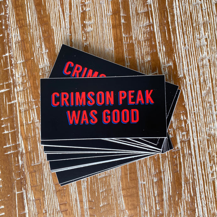 CRIMSON PREACH STICKER