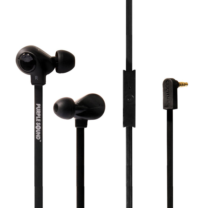 AD-003 Dual Driver Stereo Earphones with Remote Control and Microphone for Smartphones - Premium Dual Driver Technology
