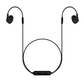 B26 - Bluetooth Wireless Dynamic Stereo In-ear Earphones with Remote Control and Microphone for Smartphones - BLACK