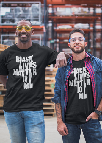 Black Lives Matter to Me Adult Unisex Crew