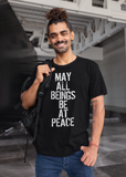 May All Beings Be at Peace Adult Unisex Crew