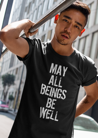 May All Beings Be Well Adult Unisex Crew