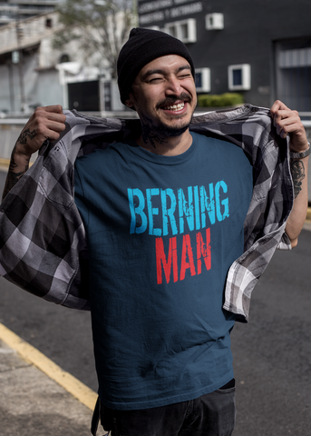 Berning Man Adult Unisex Crew
