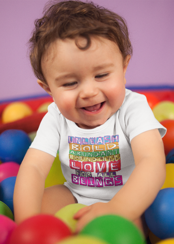 Boundless Love Baby Onesie