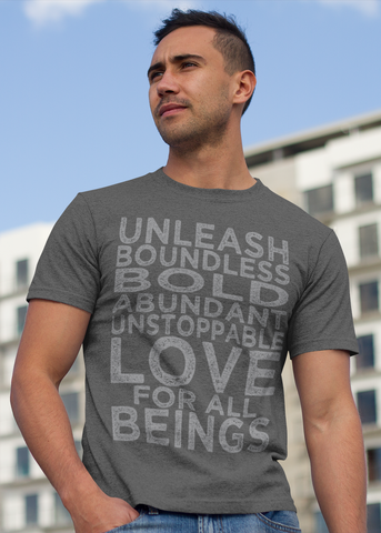 Boundless Love Adult Unisex Crew (Gray)