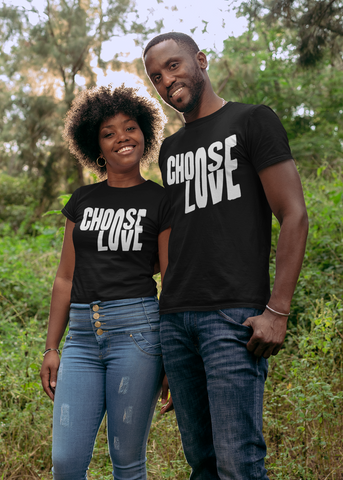 Choose Love Adult Capsleeve Tee