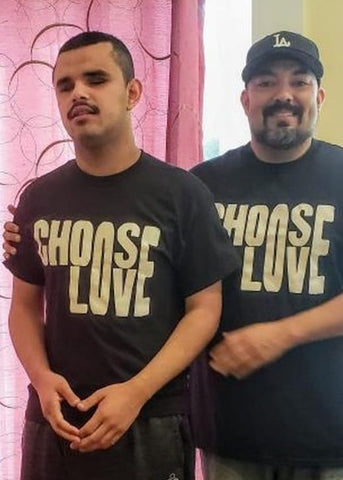 Choose Love Adult Unisex Crew (Black)