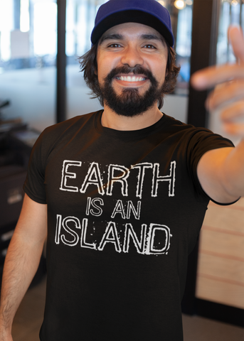 Earth Is An Island Adult Unisex Crew