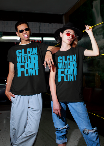 Clean Water For Flint Adult Unisex Crew