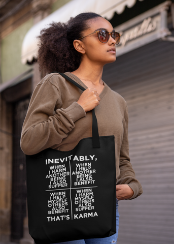 Inevitable Karma Tote Bag