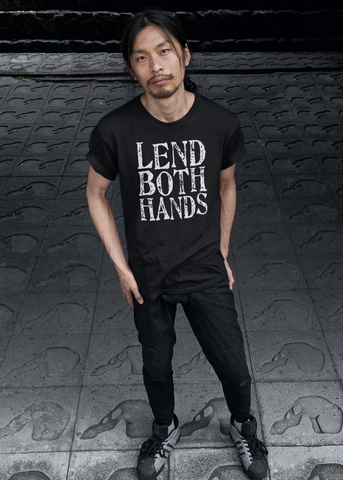 Lend Both Hands Adult Unisex Crew