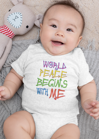 World Peace Baby Onesie
