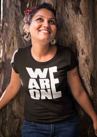 We Are One Adult Capsleeve Tee