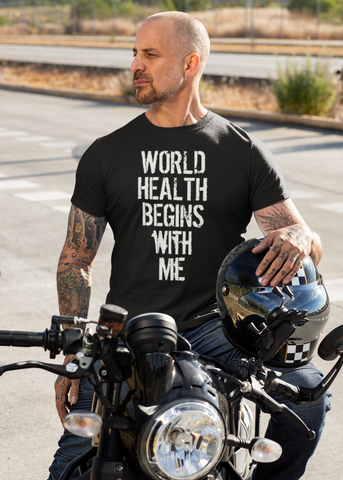 World Health Begins With Me Adult Unisex Crew