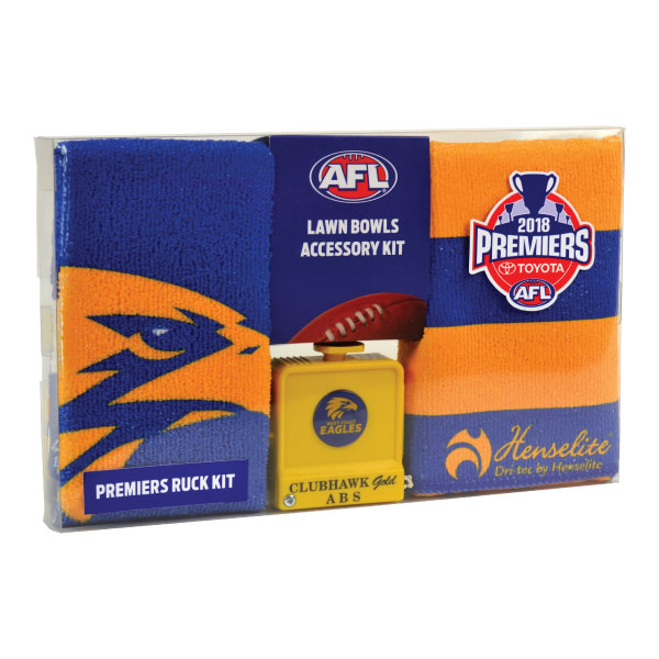 West Coast Eagles 2018 Premiers Ruck Accessory Kit