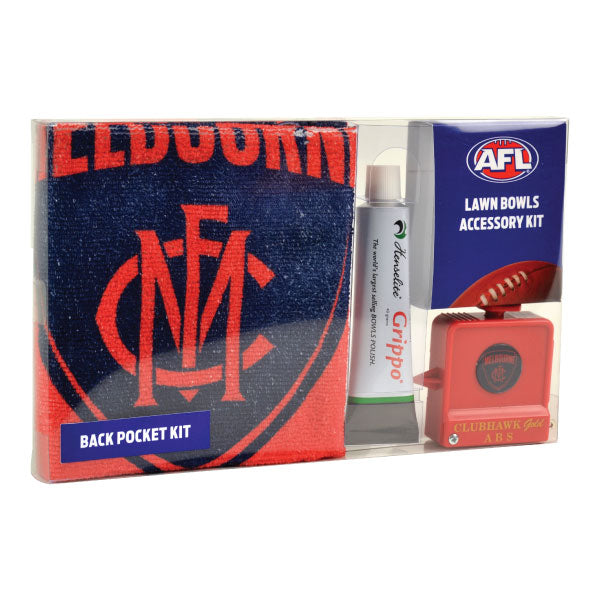 Melbourne Football Club Back Pocket Accessory Kit