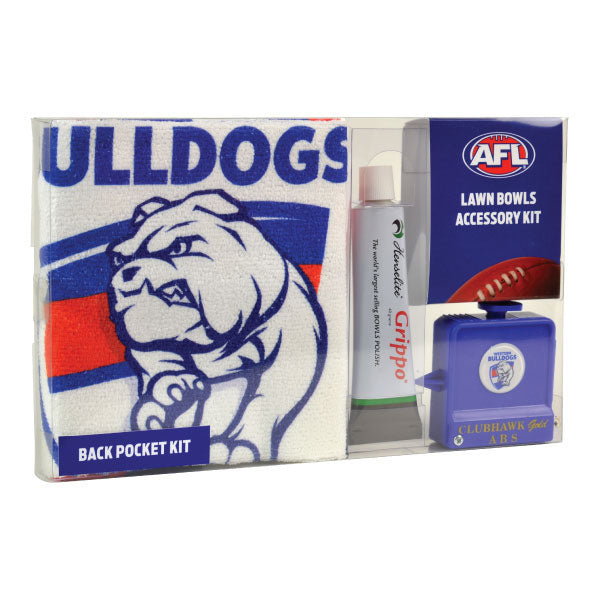 Western Bulldogs Back Pocket Accessory Kit