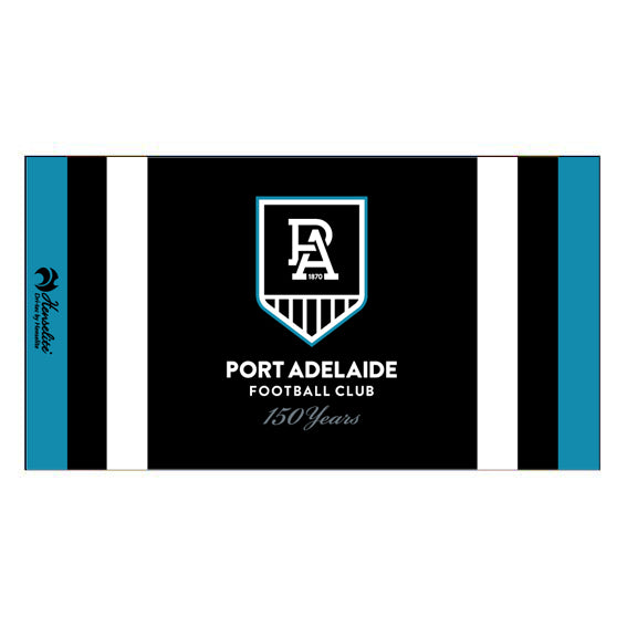 Port Adelaide Football Club Dri Tec Towel (2020)