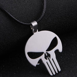 'The PUNISHER' Pendant Necklace