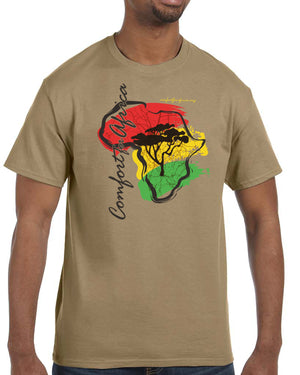 CFA Short Sleeve Men's Khaki T-Shirt
