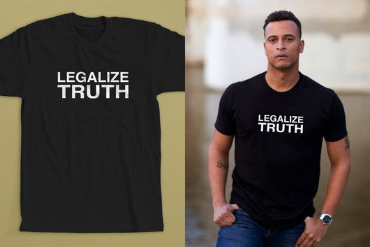 Liberal political t-shirt for the resistance.
