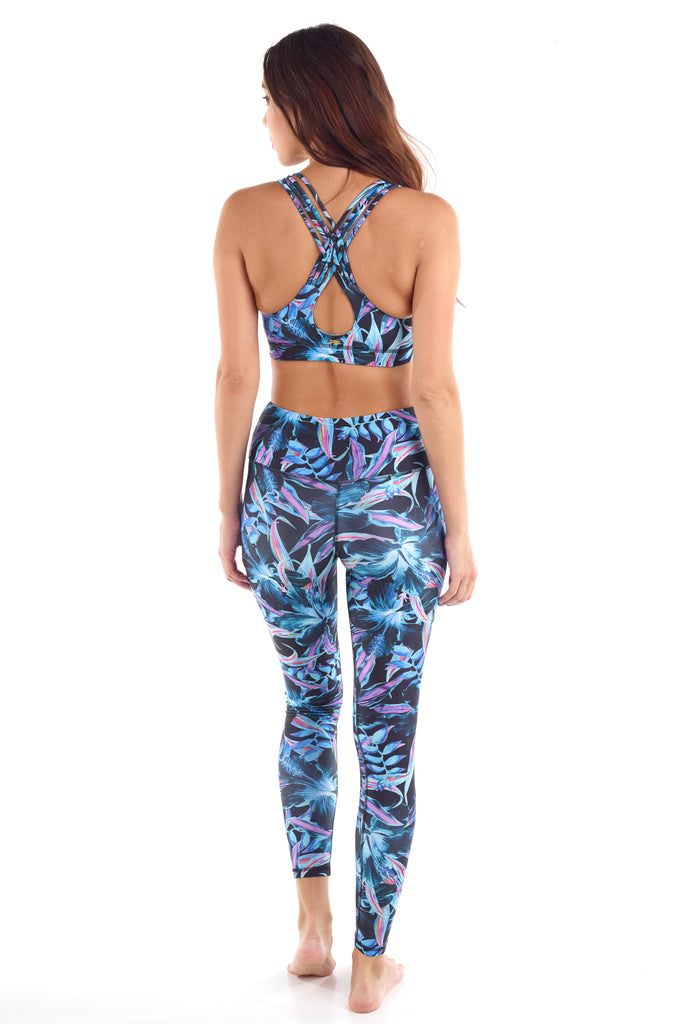 Neon Jungle Yoga Set