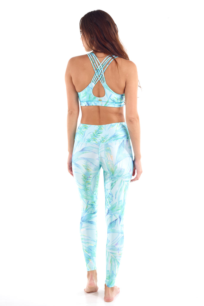The high-waist long yoga pant