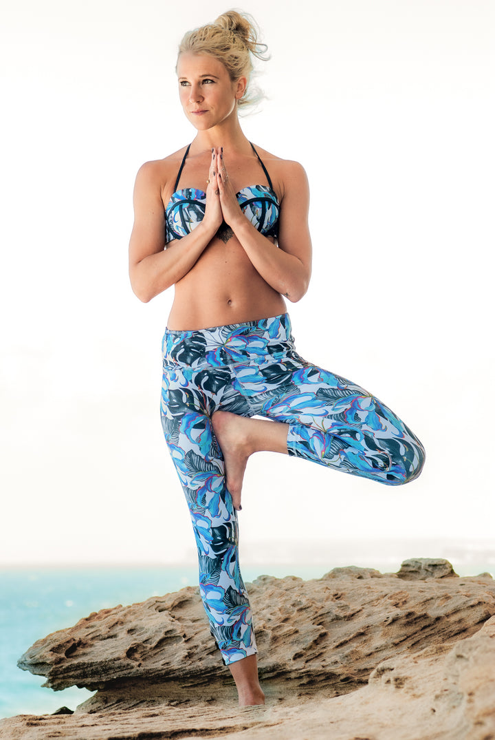 The high-waist classic yoga pant