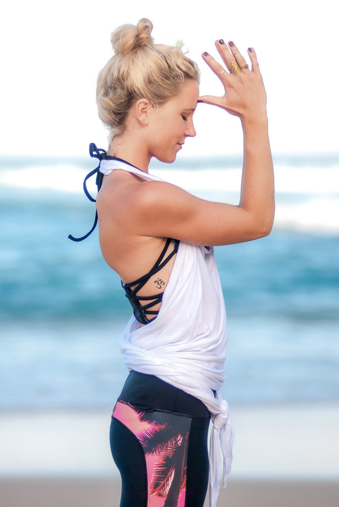 The Wrap-round Yoga Tee