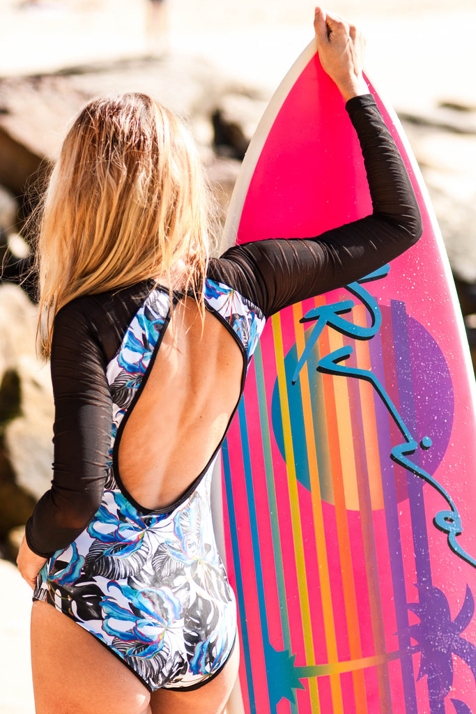 The long sleeve surf body-suit
