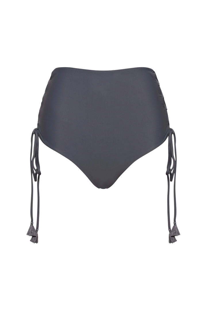 The High-waist String Bikini Bottoms
