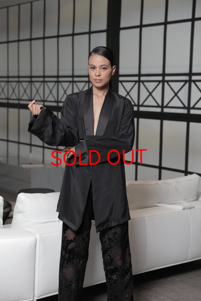 Play Girl Smoking Jacket (SOLD OUT)