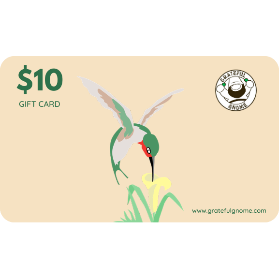 Grateful Gnome - Gift Cards - Give the Gift of Gratefulness!! Gift Card Grateful Gnome $10.00 USD