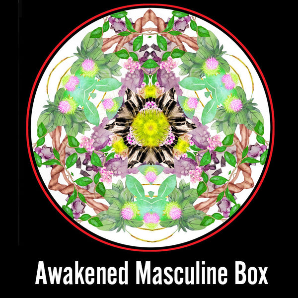 A box that supports your full masculine awakening
