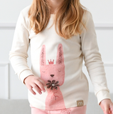Princess Rabbit Girls Organic Pajamas