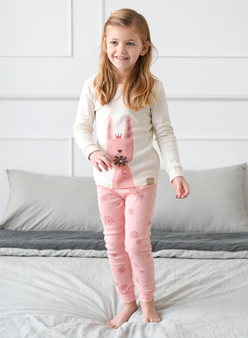 Girls Long Sleeve Pajamas