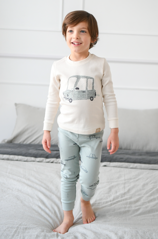 Boys Long Sleeve Pajamas