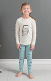 Sleepy Owl Girls Organic Pajamas