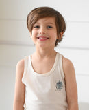 Robot Boss Boys Organic Tank Top