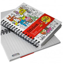 A5 Colour-In Notebooks