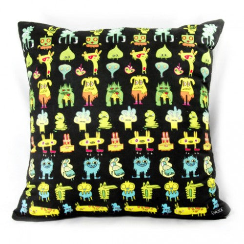Greeny Meanies Cushion