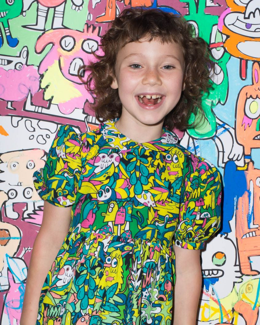 Kids Jungle Dress