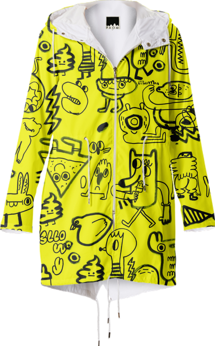 PAOM Yellow Jacket Club Rain Jacket