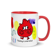 Thinking is Overrated mug