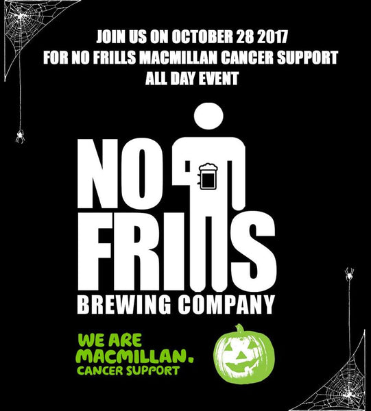 No Frills Macmillan Cancer Support Event - 28 October 2017